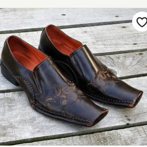 Robert wayne leather loafers